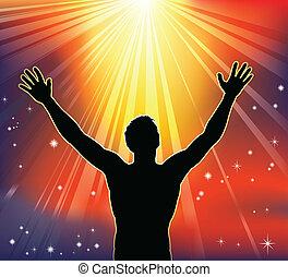Spirituelle Freude