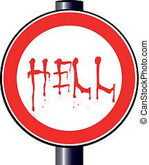 Spoof Höllenfahrzeichen
