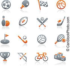 Sport-Ikonen / Graphit-Serie