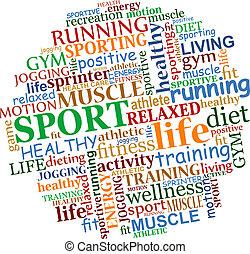 Sport Tag Cloud