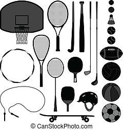 Sportball-Ausrüstung