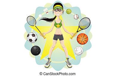 Sportsfreundin