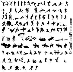 Sportsilhouette-Sammlung 2