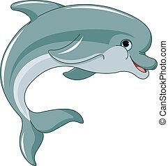 Springender Delfin