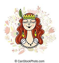 Springgirl, Sketch für dein Design