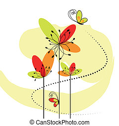 Springtime-Blume abbrechen