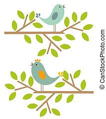 Springvögel