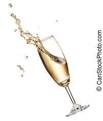 spritzen, champagner