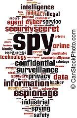 Spy Wortwolke