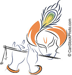 Sri Kronen spielt Flöte