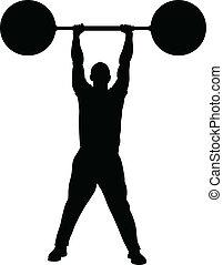 stärke, gewicht aufzuheben