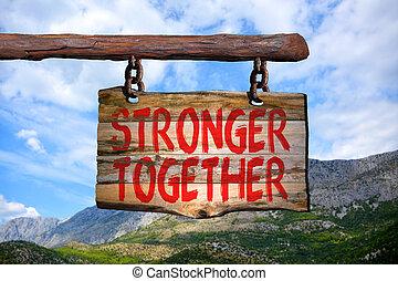 Stärker zusammen.