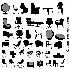 Stühle sammeln.