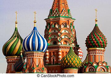 St. Basils Kathedrale. Moskau, Russland