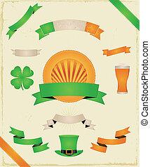 St. Patrick's Day (Ribbons und Banner sammeln)