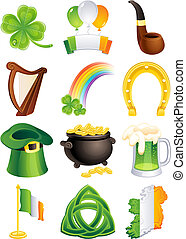 St. Patricks Ikone