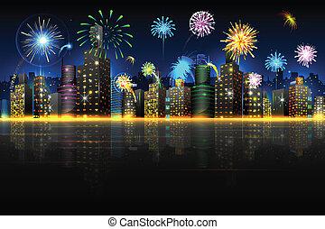 Stadt zum Feiern