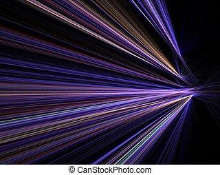 Stadtbeleuchtungsgeschwindigkeitsbewegung verschwommen