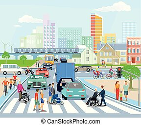 Stadttransporte