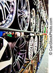 Stahllegierungs-Auto-Disketten