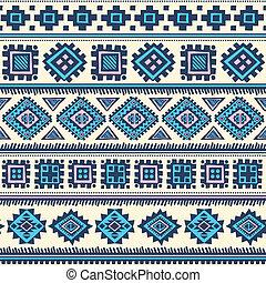 Stammesalten ethnischen Muster nahtlos