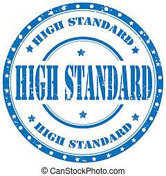 standard-stamp, hoch