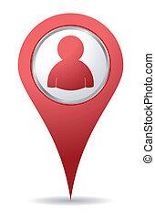 Standort-Icon