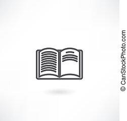 Stapel alter Bücher, isoliert auf weiß.