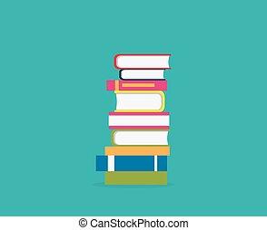 Stapel Bücher Ikone