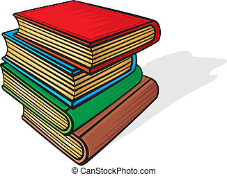 Stapel Bücher.
