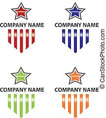 Star and Stripes Logo