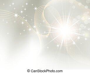 Starburst - Funken Hintergrund.