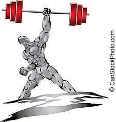 Starke Muskeln