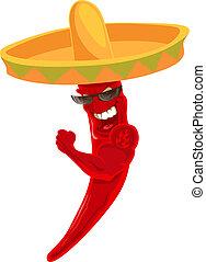 Starker Chili.