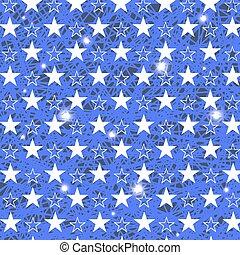 Starry Grunge Blue Hintergrund.
