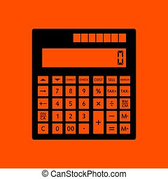 Statistisches Taschenrechner-Icon