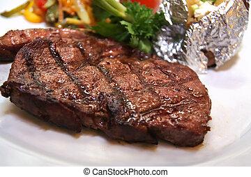 steak, lendenstück
