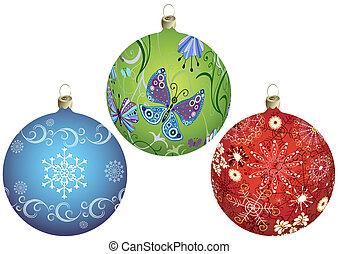 Stell Weihnachtsbälle