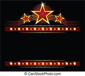 Sterne über dem Kopierraum