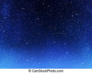Sterne im Weltraum oder Nachthimmel