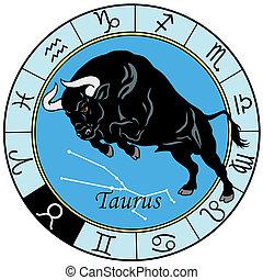 Sternzeichen Taurus.