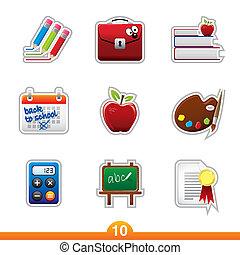 Sticker Serie 10 - Bildung