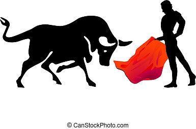 Stierkampf torero