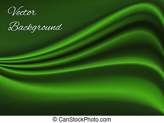 stoffstruktur, vektor, grün, künstlerisch, hintergrund
