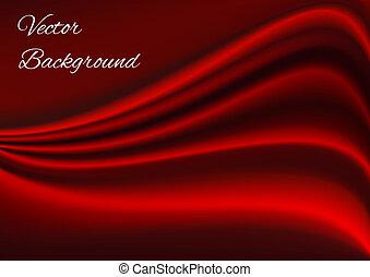 stoffstruktur, vektor, künstlerisch, hintergrund, rotes