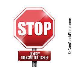 Stoppen Sie die sexuelle Übertragung von Krankheiten