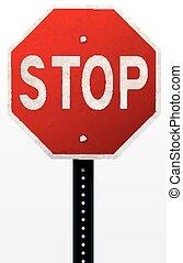 Stoppschild.