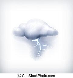 Storm, Vektor Icon