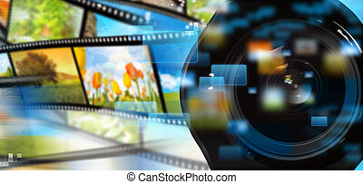 strömend, multimedia