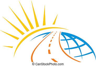 Straße durch die Welt